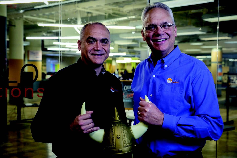 Menlo Innovations COO James Goebel and CEO Richard Sheridan